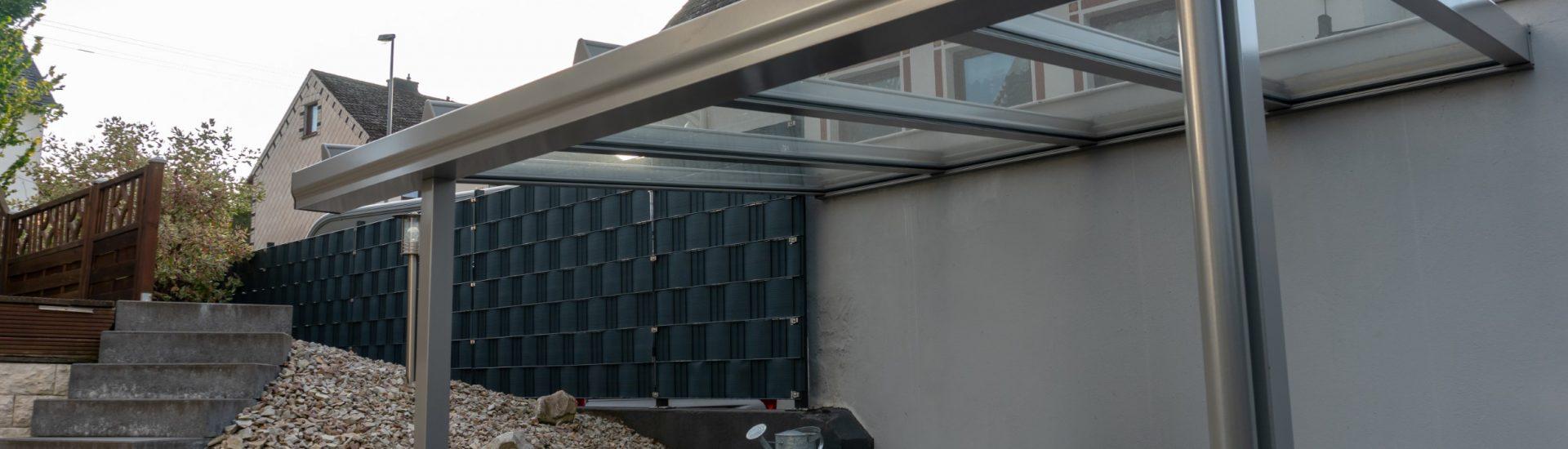 Terrassenüberdachung Aluminium
